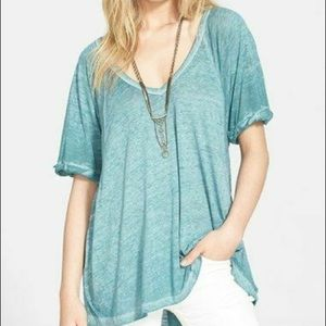 Free People We The Free Fallin Burnout Tee Small